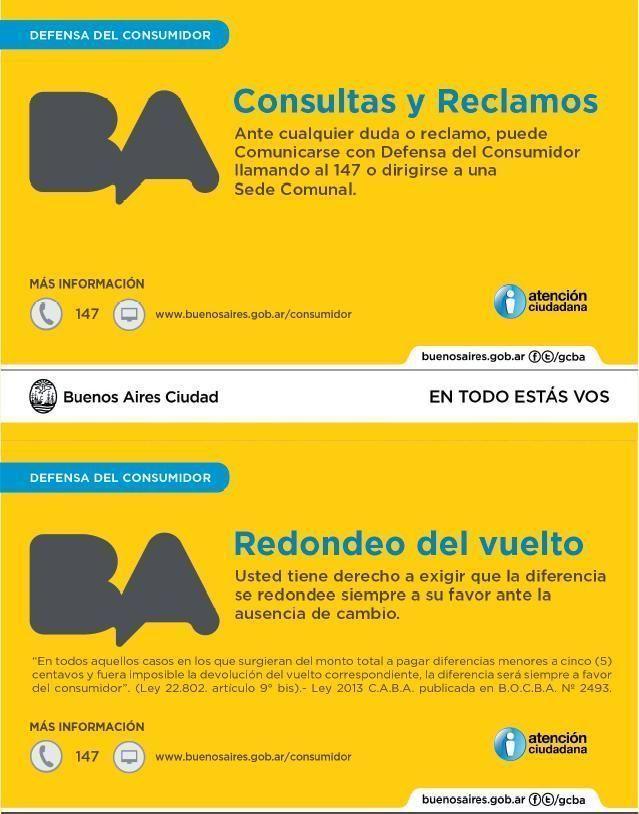Cartel defensa del consumidor caba archives contadores for Telefono oficina del consumidor