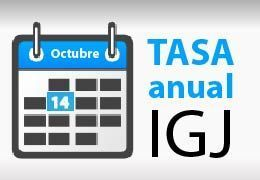 Tasa IGJ 2015