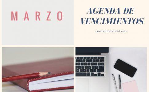 agenda vencimientos 3-2019