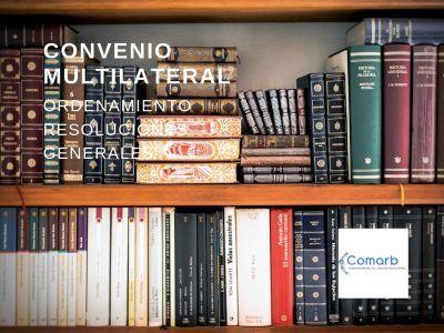 Convenio Multilateral Ordenamiento de RG 2019