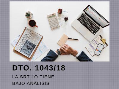 DTO. 1043 / 2018