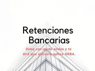 retenciones bancarias ARBA