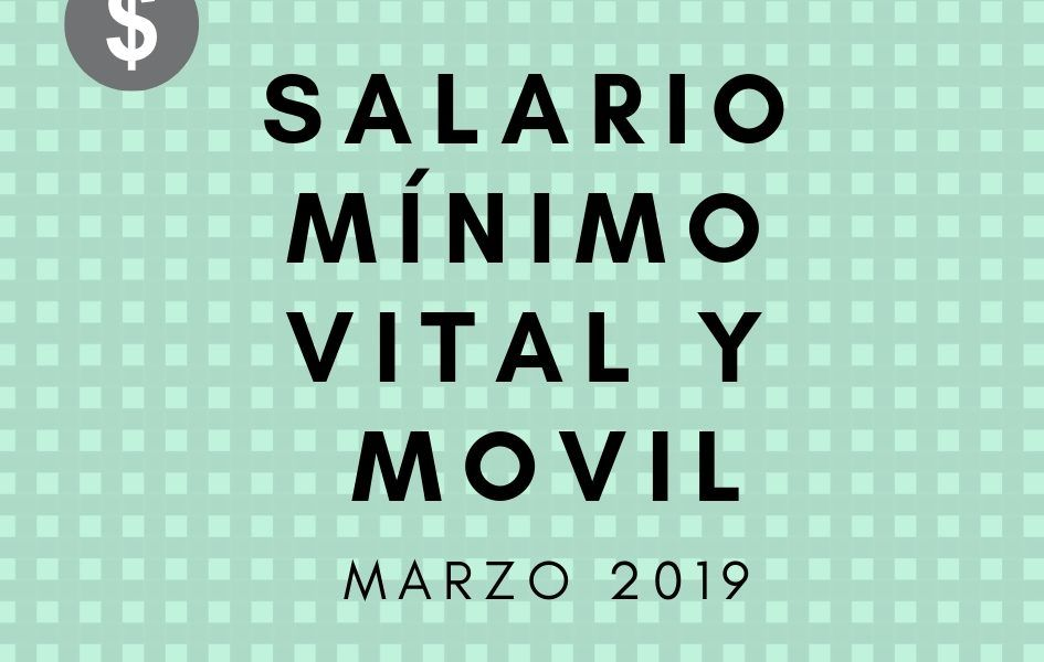 salario mínimo vital y movil