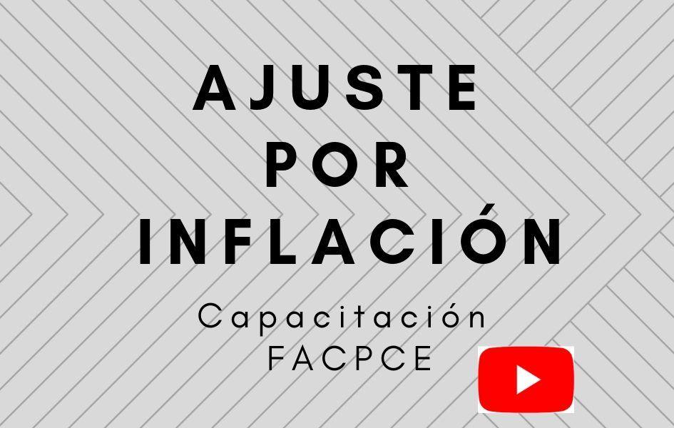 ajuste por inflación cpacitación