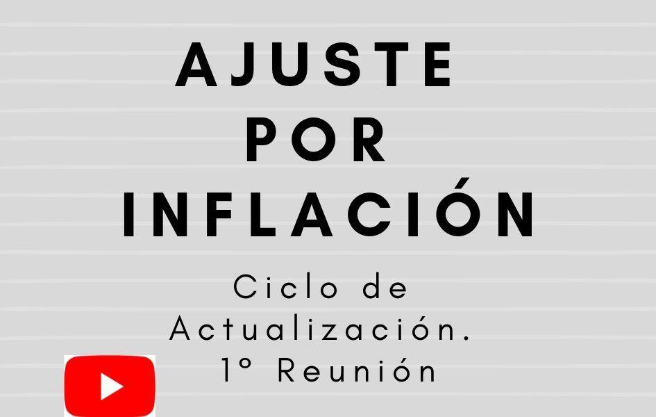 ajuste por inflación actualización
