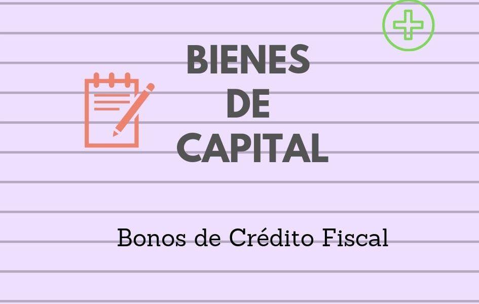 bonos credito fiscal