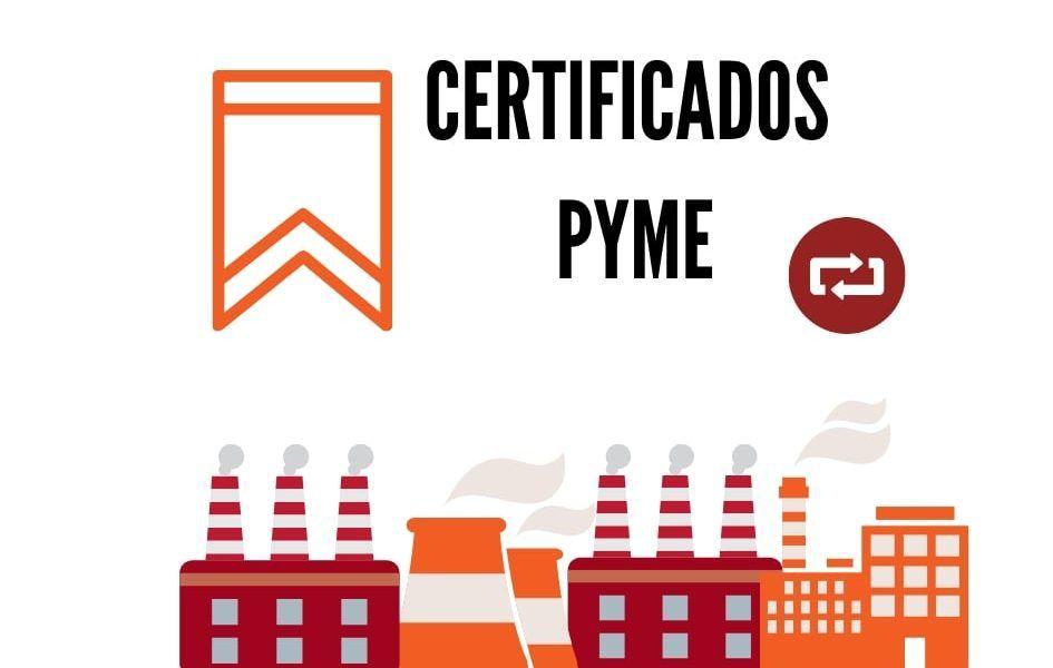 certificado PYME