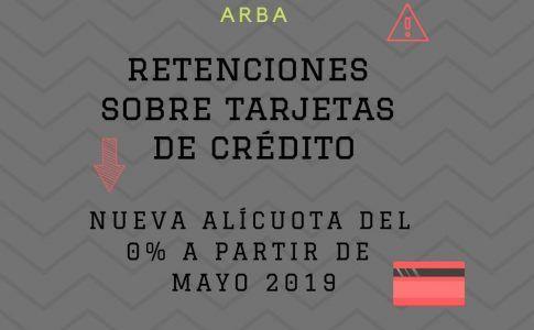 RETENCIÓN TARJETA DE CREDITO
