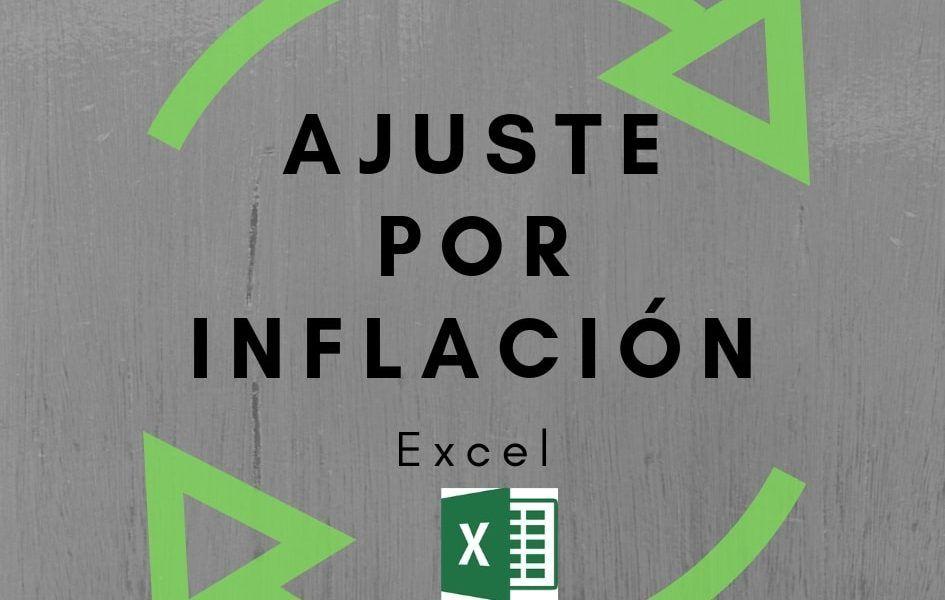 Excel para ajuste por inflación